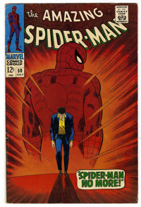 The Amazing Spider-Man #50 (Marvel, 1967) Condition: FN