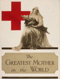 Mainstream Illustration, ALONZO EARL FORINGER (American, 1878-1948). The Greatest Motherin the World poster design. Mixed media on board. 25 x 1...