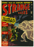 Golden Age (1938-1955):Horror, Strange Tales #7 (Atlas, 1952) Condition: VG/FN....