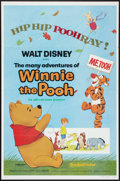 "Movie Posters:Animated, The Many Adventures of Winnie the Pooh (Buena Vista, R-1977). One Sheet (27"" X 41""). Animated.. ..."