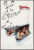 "Movie Posters:Animated, Who Framed Roger Rabbit (Buena Vista, 1988). One Sheet (27"" X 40"") SS. Animated.. ..."