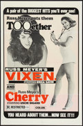 """Movie Posters:Adult, Vixen!/Cherry, Harry & Raquel! Combo (Eve Productions, R-1970s). One Sheet (27"""" X 41""""). Adult.. ..."""