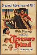"Movie Posters:Adventure, Treasure Island (RKO, 1950). One Sheet (27"" X 41"") Style A.Adventure.. ..."