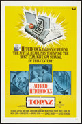 """Movie Posters:Hitchcock, Topaz (Universal, 1969). One Sheet (27"""" X 41""""). Hitchcock.. ..."""