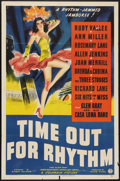 """Movie Posters:Comedy, Time Out for Rhythm (Columbia, 1941). One Sheet (27"""" X 41""""). Comedy.. ..."""