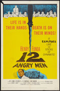 """Movie Posters:Drama, 12 Angry Men (United Artists, 1957). One Sheet (27"""" X 41""""). Drama.. ..."""