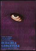 "Movie Posters:Action, The Getaway (CRF, 1975). Polish One Sheet (22"" X 31.5""). Action.. ..."