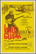 "Movie Posters:Rock and Roll, Wild Guitar (Fairway International, 1962). One Sheet (27"" X 41"").Rock and Roll.. ..."