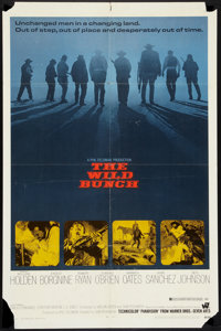 """The Wild Bunch (Warner Brothers, 1969). One Sheet (27"""" X 41""""). Western"""