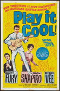 "Movie Posters:Rock and Roll, Play It Cool (Allied Artists, 1963). One Sheet (27"" X 41""). Rockand Roll.. ..."