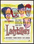 "Movie Posters:Comedy, The Ladykillers (Rank, 1955). British Crown (17"" X 22""). Comedy....."