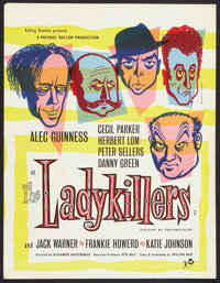 "The Ladykillers (Rank, 1955). British Crown (17"" X 22""). Comedy"