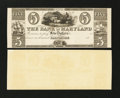 Obsoletes By State:Maryland, Baltimore, MD- Bank of Maryland $5 G44 Shank 5.118.16P Proof. ...