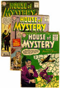 Silver Age (1956-1969):Horror, House of Mystery Box Lot (DC, 1955-76) Condition: Average VG+....(Total: 129 )