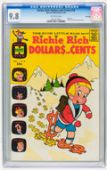 Silver Age (1956-1969):Humor, Richie Rich Dollars and Cents #18 File Copy (Harvey, 1967) CGC NM/MT 9.8 Off-white pages....