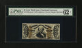 Fractional Currency:Third Issue, Fr. 1330aSP 50¢ Third Issue Spinner PMG Uncirculated 62....