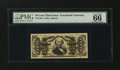 Fractional Currency:Third Issue, Fr. 1334 50¢ Third Issue Spinner PMG Gem Uncirculated 66 EPQ....