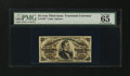 Fractional Currency:Third Issue, Fr. 1297 25¢ Third Issue PMG Gem Uncirculated 65 EPQ....