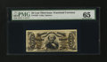 Fractional Currency:Third Issue, Fr. 1328 50¢ Third Issue Spinner PMG Gem Uncirculated 65....