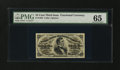Fractional Currency:Third Issue, Fr. 1294 25¢ Third Issue PMG Gem Uncirculated 65....