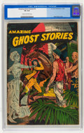 Golden Age (1938-1955):Horror, Amazing Ghost Stories #15 (St. John, 1954) CGC VG 4.0 Cream tooff-white pages....