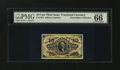 Fractional Currency:Third Issue, Fr. 1254 10¢ Third Issue PMG Gem Uncirculated 66 EPQ....