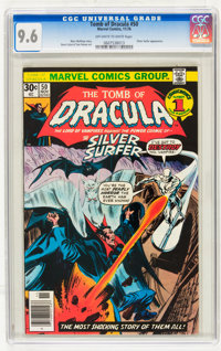 Tomb of Dracula #50 and 53 CGC-Graded Group (Marvel, 1976-77) Off-white to white pages.... (Total: 2 Comic Books)