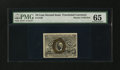 Fractional Currency:Second Issue, Fr. 1249 10¢ Second Issue PMG Gem Uncirculated 65....