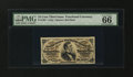 Fractional Currency:Third Issue, Fr. 1291 25¢ Third Issue PMG Gem Uncirculated 66 EPQ....