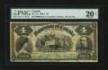 Canadian Currency: , DC-17a $4 1902. ...