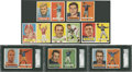 Football Cards:Sets, 1957 Topps Football Complete Set (154)....