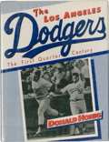 Autographs:Others, Los Angeles Dodgers Multi-Signed Book....
