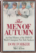 "Autographs:Others, New York Yankees Multi-Signed ""The Men of Autumn"" Book...."