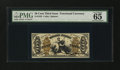 Fractional Currency:Third Issue, Fr. 1355 50¢ Third Issue Justice PMG Gem Uncirculated 65 EPQ....