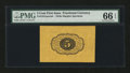 Fractional Currency:First Issue, Fr. 1231SP 5¢ First Issue Wide Margin Back PMG Gem Uncirculated 66EPQ....