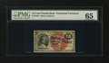 Fractional Currency:Fourth Issue, Fr. 1268 15¢ Fourth Issue PMG Gem Uncirculated 65....