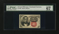 Fractional Currency:Fifth Issue, Fr. 1266 10¢ Fifth Issue PMG Superb Gem Unc 67 EPQ....