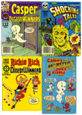 Bronze Age (1970-1979):Cartoon Character, Harvey Comics Casper and Richie Rich Digest File Copy Box Group(Harvey, 1970s) Condition: Average NM-....