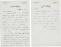 Golf Collectibles:Autographs, 1932 Johnny Farrell Handwritten Signed Letter to Jerry Travers....
