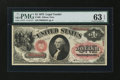 Large Size:Legal Tender Notes, Fr. 20 $1 1875 Legal Tender PMG Choice Uncirculated 63 EPQ....