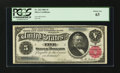 Large Size:Silver Certificates, Fr. 265 $5 1886 Silver Certificate PCGS Choice New 63....