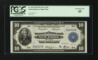 Fr. 810 $10 1918 Federal Reserve Bank Note PCGS Extremely Fine 45