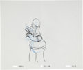animation art:Production Drawing, The Simpsons Homer and Marge Animation Production DrawingOriginal Art Group (Fox, undated).... (Total: 2 Items)