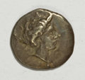 Ancients:Greek, Ancients: Elis, Olympia. Ca. 350-324 B.C. AR hemidrachm (17 mm,2.86 g, 10 h)....