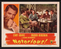 """Movie Posters:Hitchcock, Notorious (RKO, 1946). Lobby Cards (2) (11"""" X 14""""). Hitchcock.. ... (Total: 2 Items)"""
