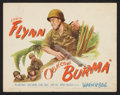 """Movie Posters:War, Objective Burma (Warner Brothers, 1945). Title Lobby Card, LobbyCard (11"""" X 14""""), and Pressbook (Multiple Pages, 11"""" X 17"""")...(Total: 3 Items)"""