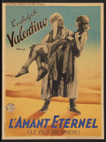 """Movie Posters:Adventure, The Son of the Sheik (Astra Paris Films, R-1930s). French Affiche(23.5"""" X 31.5""""). Adventure.. ..."""