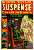 Golden Age (1938-1955):Horror, Suspense #25 (Atlas, 1952) Condition: FN-....