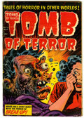 Golden Age (1938-1955):Horror, Tomb of Terror #15 (Harvey, 1954) Condition: VG+....