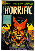 Golden Age (1938-1955):Horror, Horrific #11 (Comic Media, 1954) Condition: VG-....